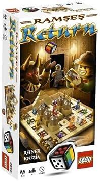 LEGO Ramses Return Viajes/Aventuras - Juego de Tablero (Viajes/Aventuras, 20 min, 7 año(s)): Amazon.es: Juguetes y juegos