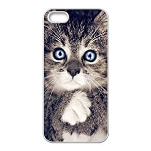 Cool Painting Cats Customized Cover Case for Iphone 5,5S,custom phone case case-304836