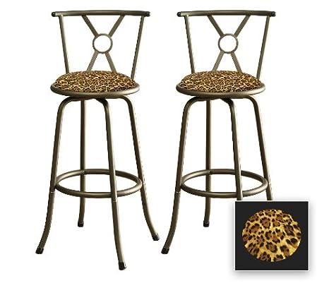 Sensational Amazon Com 2 New 24 Or 29 Adjustable Bronze Finish Metal Cjindustries Chair Design For Home Cjindustriesco