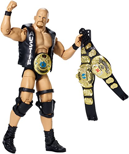 WWE Defining Moments Elite - Stone Cold Steve Austin (Stone Cold Steve Austin Hall Of Fame Figure)