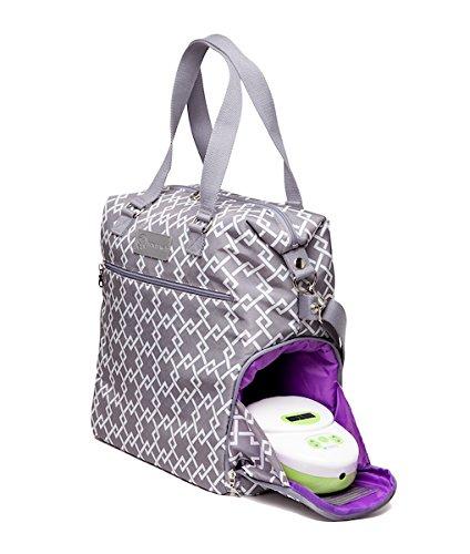 Sarah Wells Lizzy Breast Pump Bag (Gray) by Sarah Wells (Image #3)