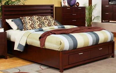 Camarillo Storage Panel Bed Size: California King