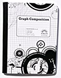 Three Pack of Quad Ruled 4 X 4 Graph Composition Books