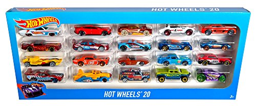 amazoncom hot wheels 20 car gift pack styles may vary toys games