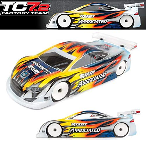 Team Associated 30122 TC7.2 1/10 4WD Electric On-Road Touring Car, Factory Team Kit ()