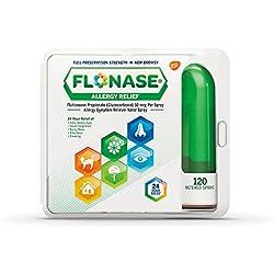 Flonase Allergy Relief Nasal Spray, 120 metered sprays 0.54 oz