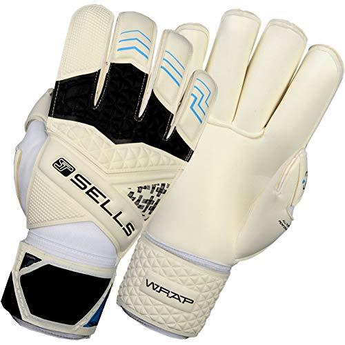 (Sells PRO WRAP H2O Junior Goalkeeper Gloves Size 6 White)