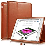 KAVAJ Leather iPad 2/3/4 Case Cover Berlin for Apple iPad 4, iPad 3, iPad 2 Cognac-Brown Genuine Cowhide Leather with Built-in Stand Auto Wake/Sleep Function. Slim Fit Smart Folio Covers iPad 2/3/4