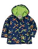 Hatley Little Boys' Rain Coat Dragons, Blue Dragons, 4