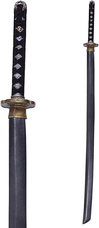 Epic Armoury Wakizashi 60cm aus Schaumstoff Fantasy Katana Schwert Langschwert Cosplay Polsterwaffe Schaukampf LARP