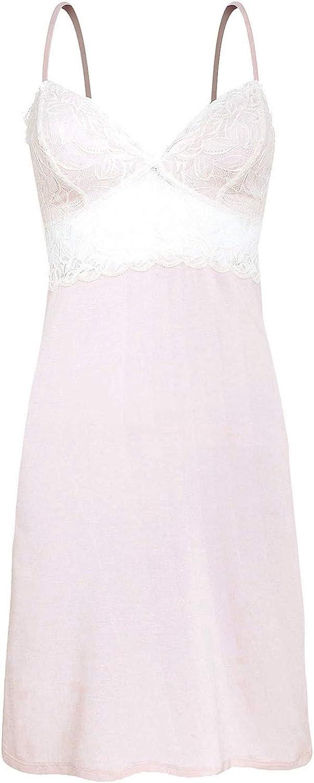 Oysho - Camisón - para Mujer Rosa Rubor S: Amazon.es: Ropa