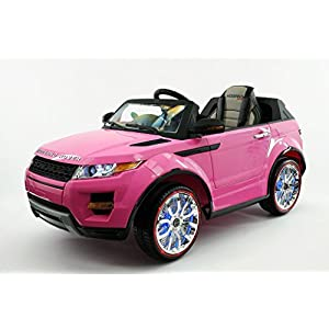 2017-Pink-Range-Rover-Style-12V-Ride-On-Car-W-Remote-Control-2-Speeds-Leather-Seat-LED-Light