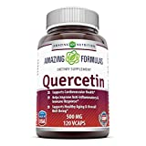 amazing nutrition Quercetin 500 Mg 120 Vcaps 120 count