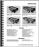 New Idea 213 Manure Spreader Operators & Parts Manual