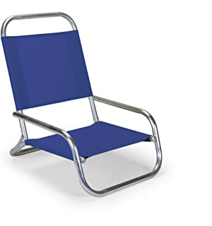 product image for Telescope Casual Sun and Sand Chair, Aluminum Frame with Atlantis Blue Fabric
