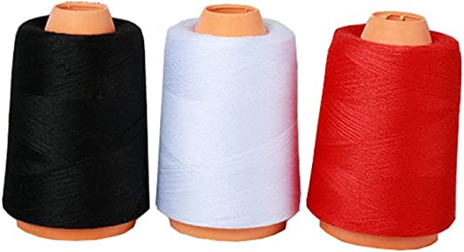 3 unidades de hilo de coser de Dacron resistente rodillo grande ...