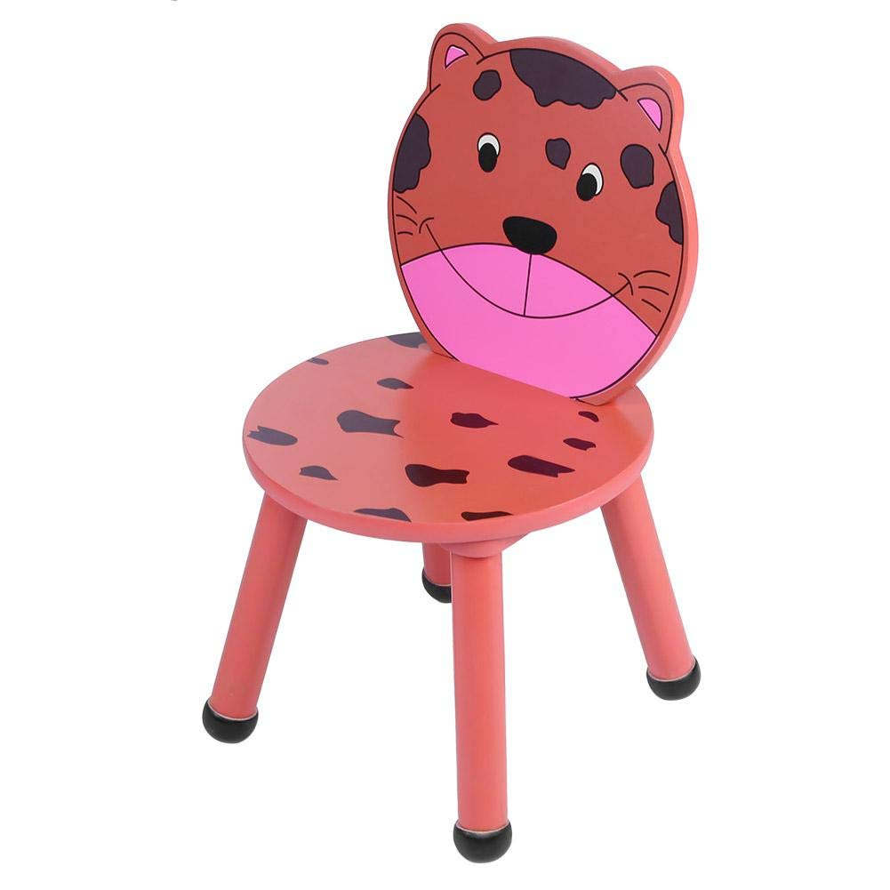 1Pc Cute Cartoon Animal Kids Chairs Eating Children Courtyard Backrest Chair with Backrest(02) by Bicaquu
