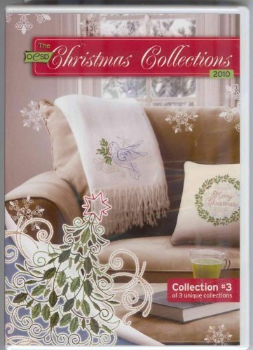 OESD Christmas Collection 2010 Embroidery Designs CD #3 (3 Embroidery Card)