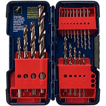 Bosch CO18 18-Piece Plastic Cobalt Drill Bit Set