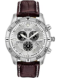 Men's Eco-Drive Chronograph Watch with Perpetual Calendar and Date, BL5470-06A