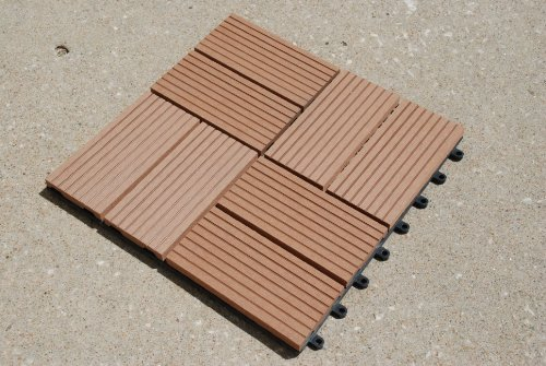 Build4eco century outdoor living diy outdoor deck tile for Best composite decking material reviews
