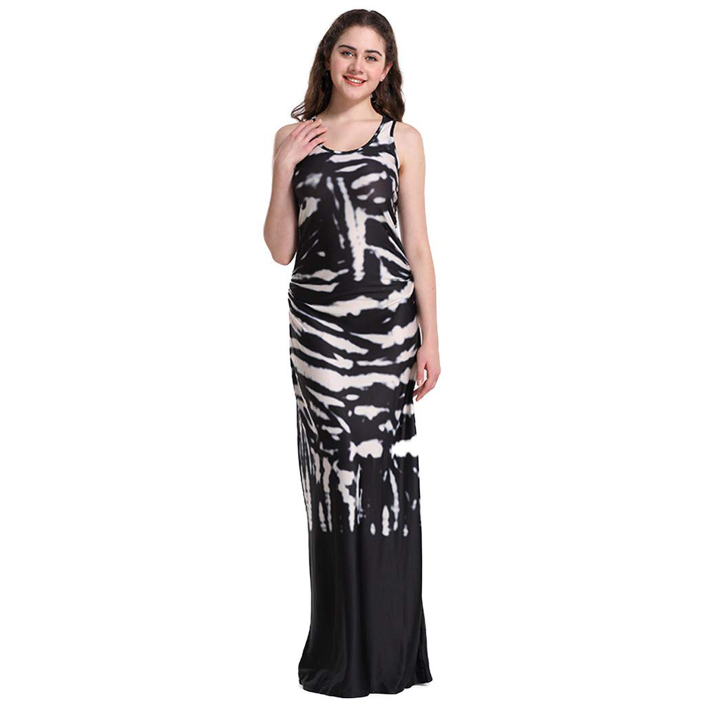 Amazon.com: Euone Dress Clearance, Women Boho Holiday Long ...