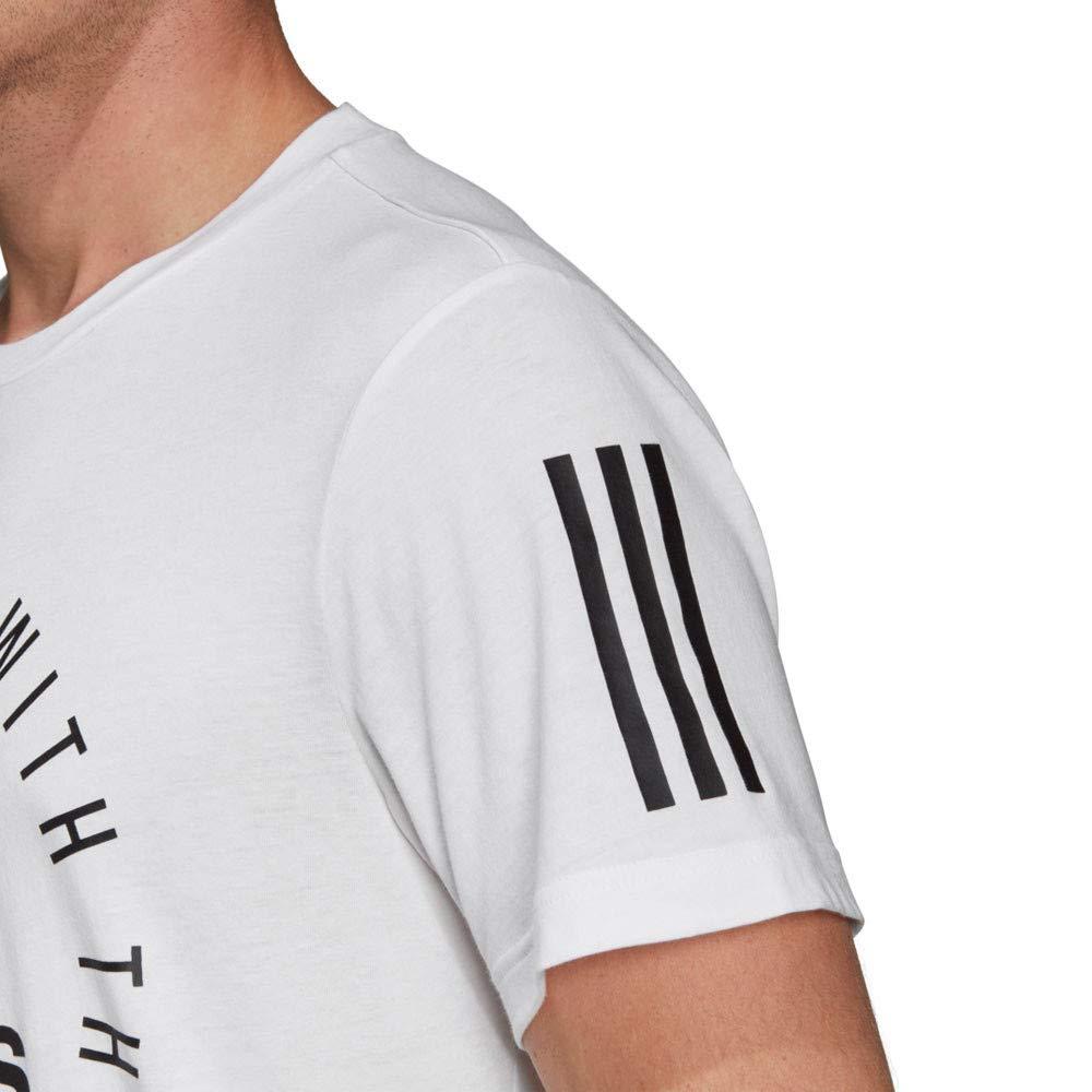 adidas Sport ID tee Elongated T-Shirt Hombre