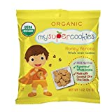 MySuperCookies, 100ct-1oz (Bulk Snacks, Organic, Nut Free, Kosher, Whole Grain) (Honey Heroes) Review