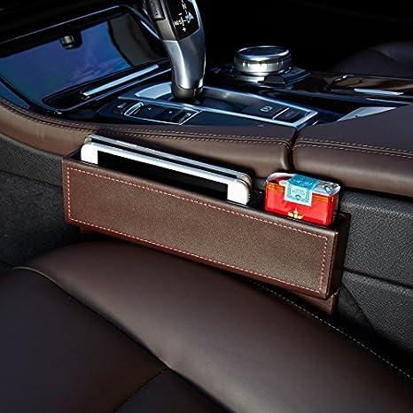 Fangfei Car Seat Catcher Gap Filler Organizer Side Slit Pocket Coin PocketConsole
