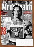 Men s Health Magazine November 2018 ARNOLD SCHWARZENEGGER Cover, 30th Anniversary Issue, Pat Tillman, Magic
