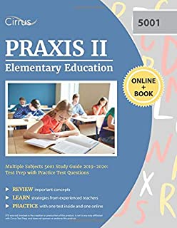 Praxis Elementary Education: Multiple Subjects 5001: Sharon