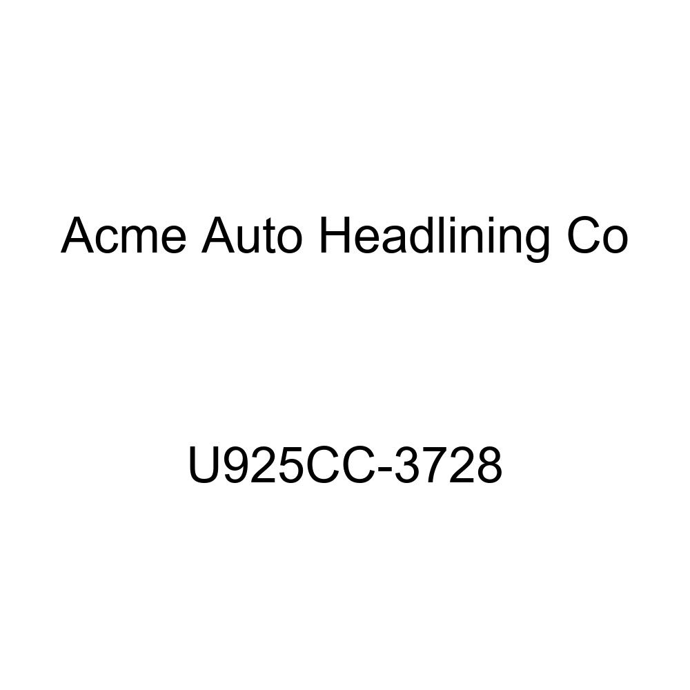 Acme U925CC-3728 Front and Rear White Vinyl Bench Seat Upholstery