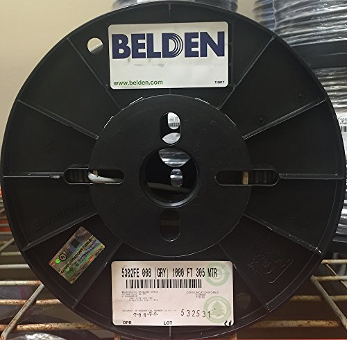 [Belden 5302FE 18/4 Shielded Control Cable 1000 Ft] (Belden Cable Wire)