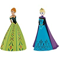 Disney Frozen Elsa and Anna The Crowning Birthday Party Cake Toppers