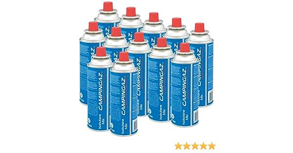 Campingaz Válvula de gas cartucho CP 250 – 450 ml isobutane Mix (12 unidades)