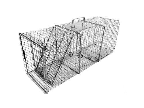 Tomahawk Professional Series Rigid Trap for Raccoons/Feral Cats/Badgers/Ground (Hog Trap Doors)