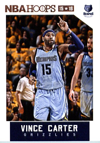 Carter Basketball Vince (2015-16 Panini Hoops #220 Vince Carter Basketball Card)