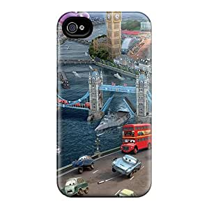 New Style Case Cover BIGTSMY2739WxotJ Cars Movie Compatible With Iphone 4/4s Protection Case