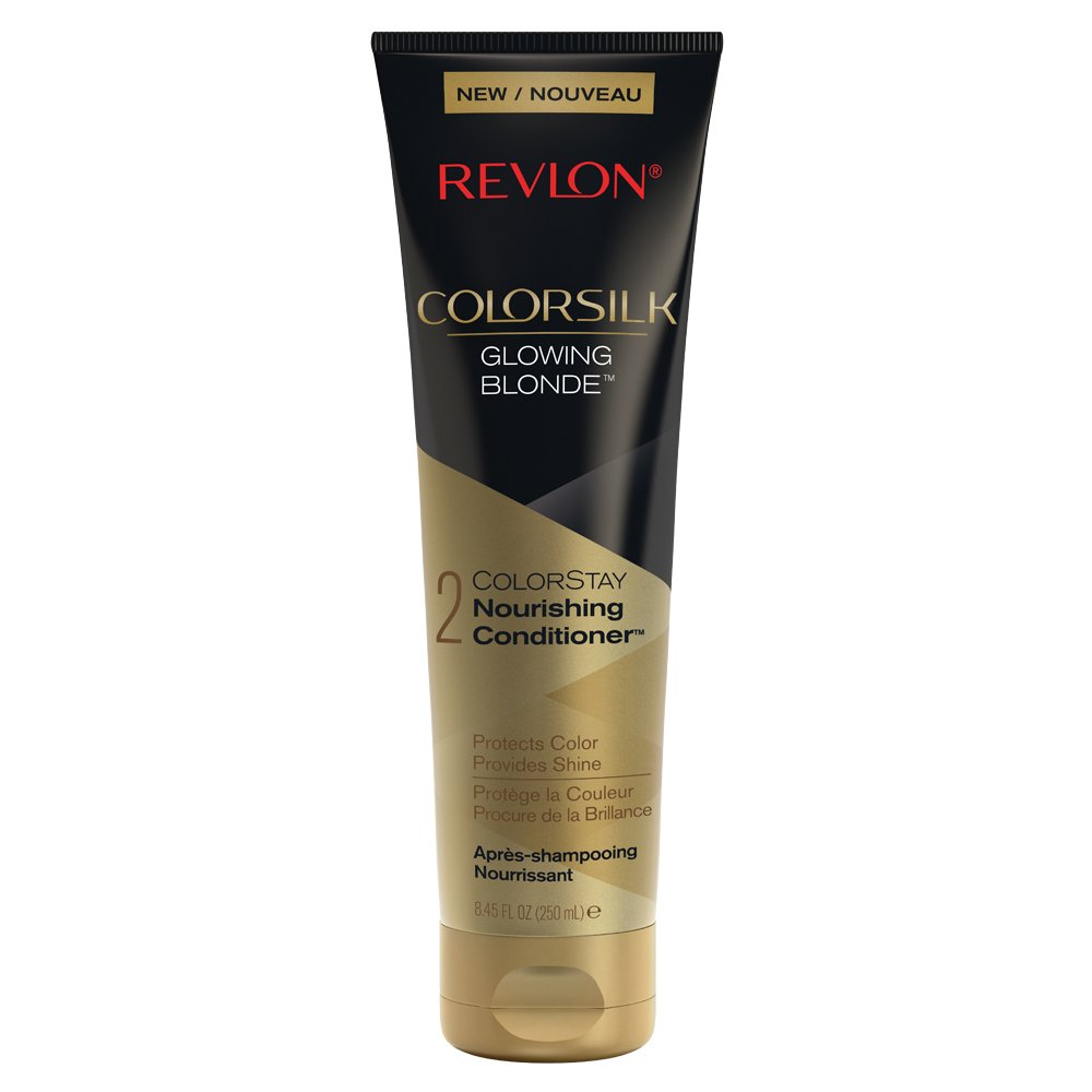 Amazon Com Revlon Colorsilk Care Conditioner Black 8 45 Fluid