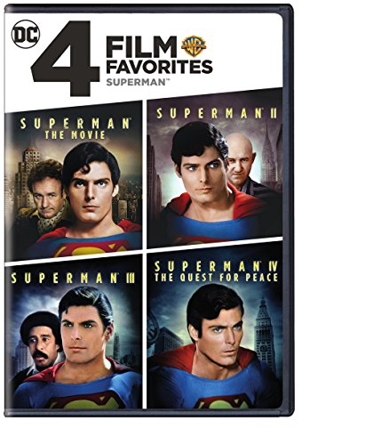 4 Film Favorites: Superman (Superman II: Special Edition, Superman III: Deluxe Edition, Superman IV: Deluxe Edition, Superman, The Movie: Special Edition) (Cover may vary) ()
