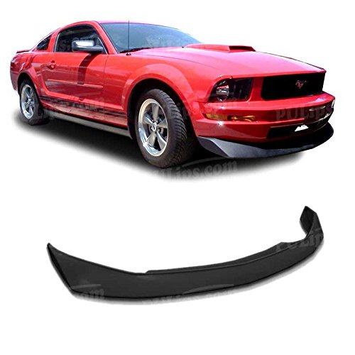 Ford Mustang Spoiler Replacement (PULIps FDMU05V6B2FAD - B2 Style Front Chin Spoiler For Ford Mustang V6 2005-2009 )