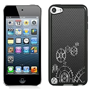 Fashion DIY Custom Designed iPod Touch 5th Generation Phone Case For Metal Gears Phone Case Cover