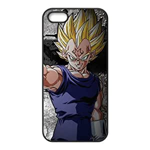 New Dragon ball Z Super Saiya Man Vegeta Cool Unique Durable Hard Plastic Case Cover for Apple Iphone 5 5S CustomDIY