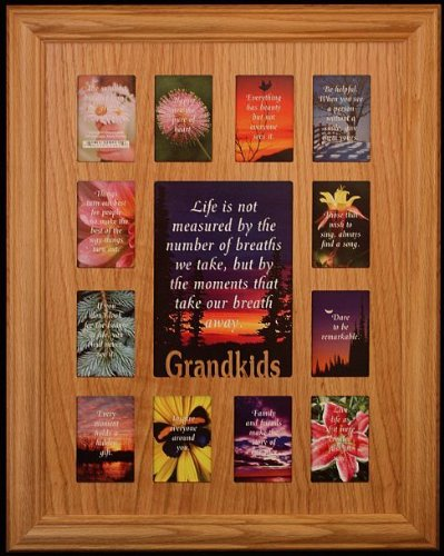 Amazon.com - 12x16 GRANDKIDS Picture Collage Frame ~ Wonderful Gift ...