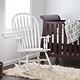 Windsor Baby Nursery Rocking Chair - White