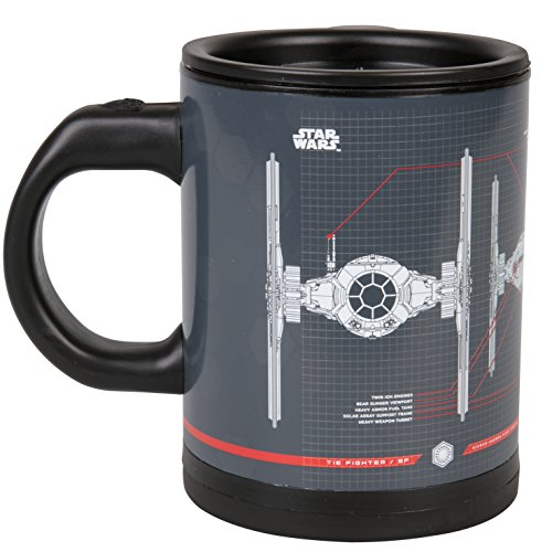 Star Wars Tie Fighter Self-Stirring Travel Mug