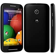 "Motorola Moto E - (2nd Gen, XT1527) Black - New, Unlocked - Smart Phone, 4.5"" Display, 4G LTE 8GB, Bulk Packed, Android 5.0, GSM for Rogers, FIDO, Bell, Telus, Koodo, Virgin (Does not work with Wind and Mobilicity)"