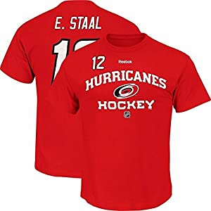 Reebok Carolina Hurricanes #12 Eric Staal Locker Room T-Shirt