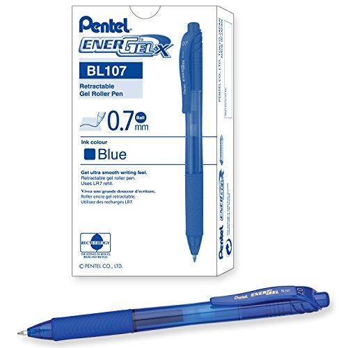 Pentel EnerGel X Retractable Liquid BL107 C