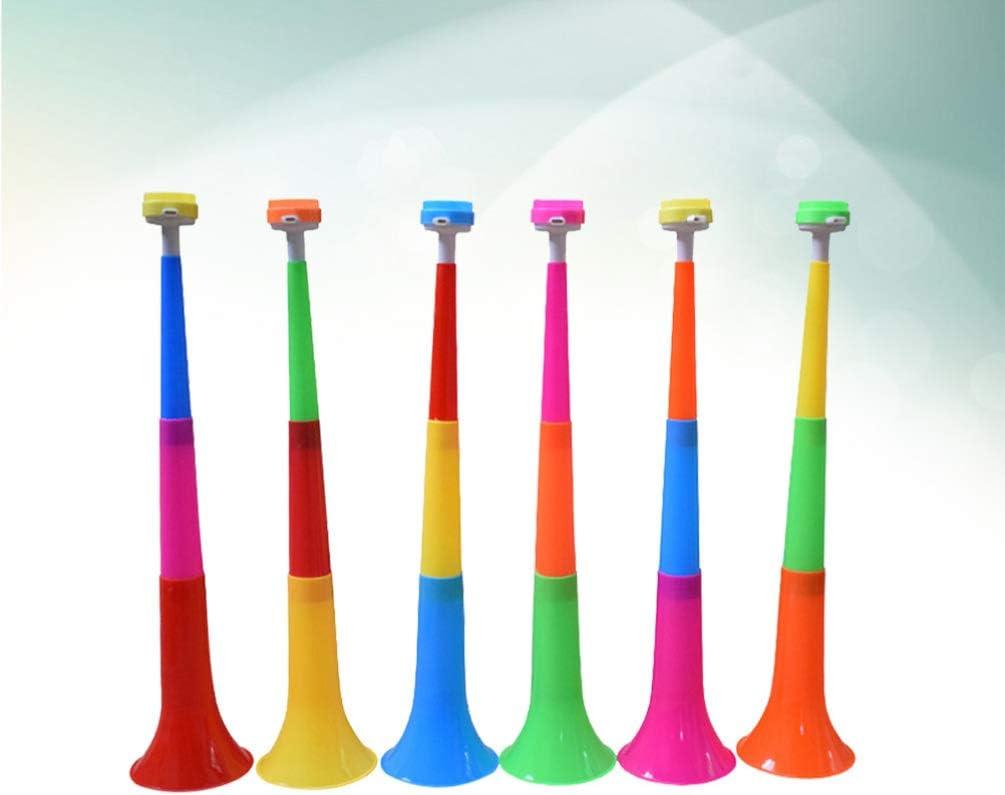 Toyvian 10 Piezas de Trompeta de Plástico para Niños Instrumentos Musicales Juguetes Telescópicos para Niños Pequeños Juguetes Educativos Preescolares (Color Mixto): Amazon.es: Juguetes y juegos
